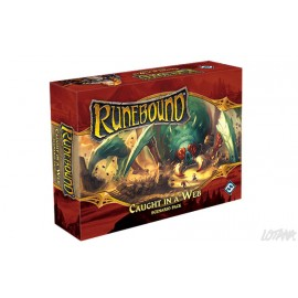 Runebound 3rd edition: Caught in a Web Scenario Pack