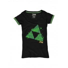 Zelda - Triforce Splatter Women's T-shirt - XL