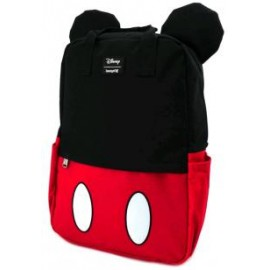 Loungefly Mickey Mouse Cosplay Square Nylon Backpack