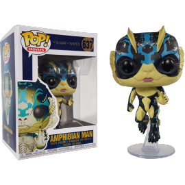 Movies 637- Shape of Water - Amphibian Man w/chase