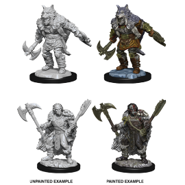 D&D Nolzur's Marvelous Miniatures - MaleHalf-Orc Barbarian
