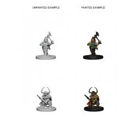 D&D Nolzur's Marvelous Miniatures - Dwarf Female Barbarian
