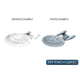 Star Trek Unpainted Ships - Galaxy Class