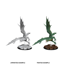 D&D Nolzur's Marvelous Miniatures - Young Green Dragon