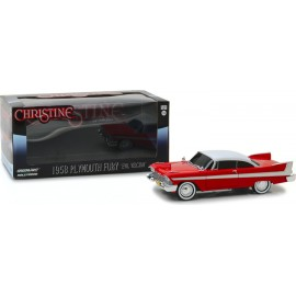Christine (1983) - 1958 Plymouth Fury (Evil Version with Blacked Out Windows)-1:24