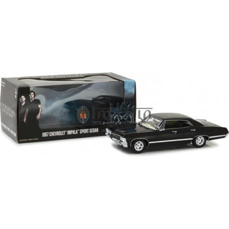Supernatural (2005-Current TV Series) - 1967 Chevrolet Impala Sport Sedan 1:24