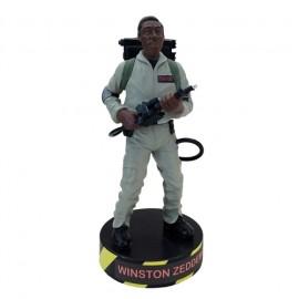 Ghostbusters - Winston Zeddemore - Premium Motion Statue