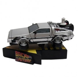Back to the Future - Flying Delorean - Premium Motion Statue