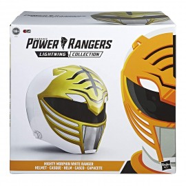 Power Rangers Lightning Collection WHITE RANGER HELMET