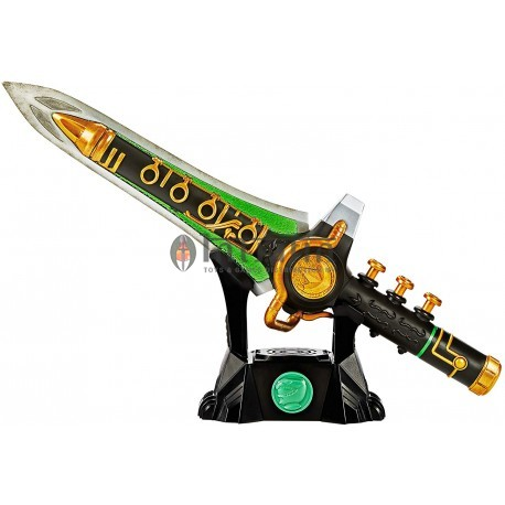 Power Rangers Lightning Collection Green Dragon Dagger With Lights & Sounds