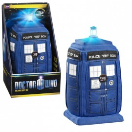 "Doctor Who Talking 24"" Plush TARDIS with LED light-up"