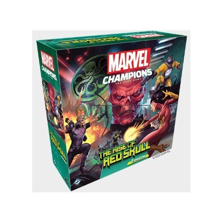 Marvel Champions: The Rise of Red Skull Campaign expansion LCG