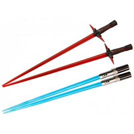 Star Wars Kylo Ren & Rey Lightsaber Chopsticks Battle Set