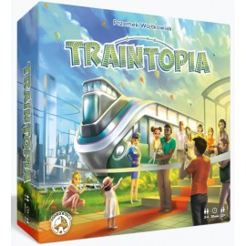 Traintopia Board game