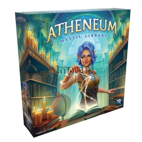Atheneum Mystic Library Boardgame