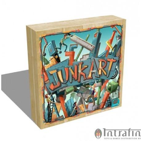 Junk Art boardgame EN-FR-DE