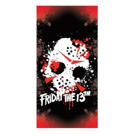 Friday 13th - Beach Towel - Jason Mask