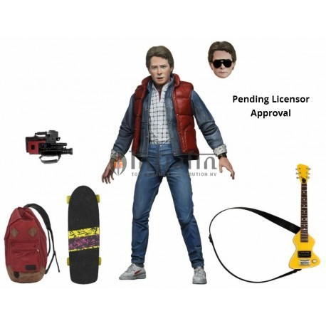 "Back to the Future – 7"" Scale Action Figure – Ultimate Marty (6)"