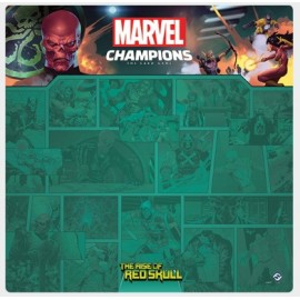 Marvel Champions: Red Skull 1-4 Player Mat