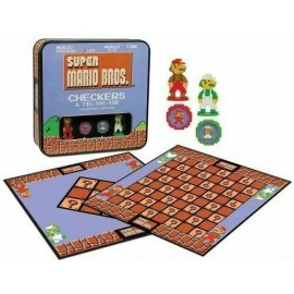 Super Mario Bros™ Classic Combo Checkers/Tic Tac Toe (Tin)