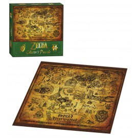 The Legend of Zelda™ Hyrule Map Puzzle 550 pc