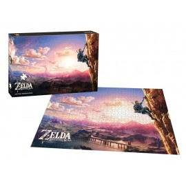The Legend of Zelda™ Breath of the Wild Scaling Hyrule Puzzle 1000 pc