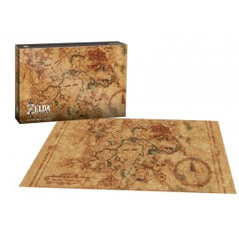 The Legend of Zelda™ Breath of the Wild Hyrule Map Puzzle 750 pc
