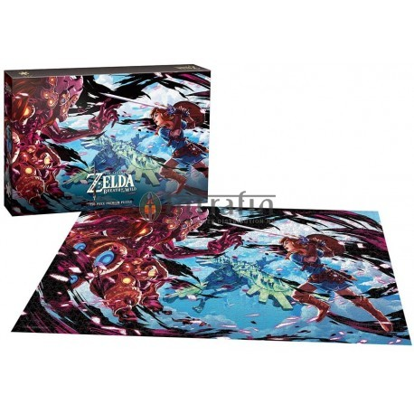 The Legend of Zelda™ Breath of the Wild Wild Scourge of Vah Medoh Puzzle 750 pc