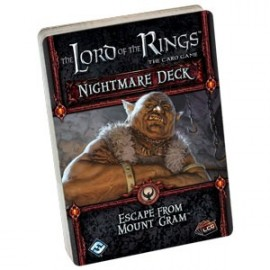 The Lord of the Rings LCG Escape from Mount Gram Nightmare Deck