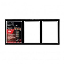 Magnetic Holder 3 card one touch black holder