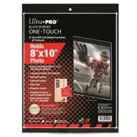 "Magnetic Holder one touch 8"" x 10"" Black Border"
