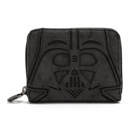 Loungefly Star Wars Blk Vader Zip Around Wallet