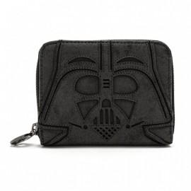 Loungefly Star Wars Black Vader Zip Around Wallet