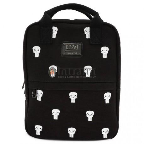 Loungefly Marvel Punisher Canvas Embriodered Backpack