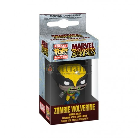 POP Keychain: Marvel Zombies - Wolverine