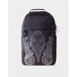 Assassin's Creed Valhalla - Black Screen Printed Backpack
