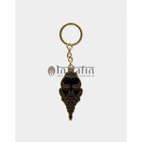 Assassin's Creed Valhalla - Face Metal Keychain