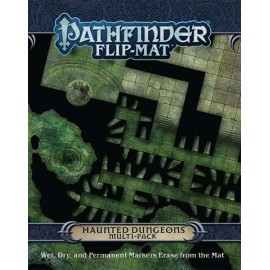 Pathfinder Flip-Mat: Haunted Dungeons Multi-Pack