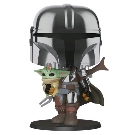 "Star Wars: Mandalorian - 10"" Mandalorian w/ Child"