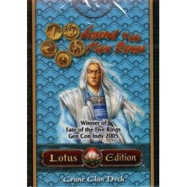 L5R CCG Lotus Edition Deck with Crane
