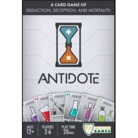 Antidote boxed deduction cardgame