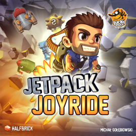 Jetpack joyride (EN) board game