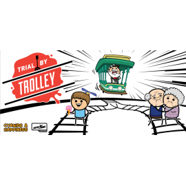 Trial by Trolley-board game