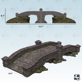 Wizkids 4D™ Settings: Stone Bridge