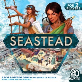 Seastead- board game