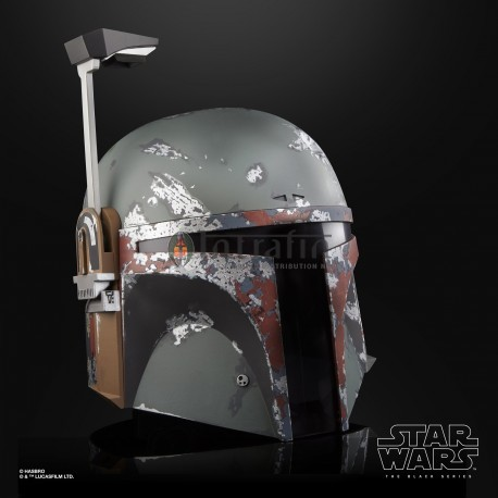 Star Wars Episode 5 Bobba Fett Electronic Helmet