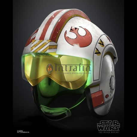 Star Wars Episode 9 Black Series Luke Skywalker Battle Simulation Helmet
