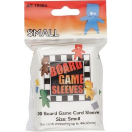 Board Game Sleeves Clear- Small (44x68mm) 10p