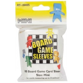 Board Game Sleeves Clear- Mini (41x 63mm) 10p