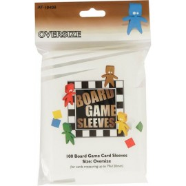 Board Game Sleeves Oversize (82x124 mm) 10p